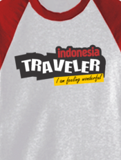 kaos indonesia backpacker